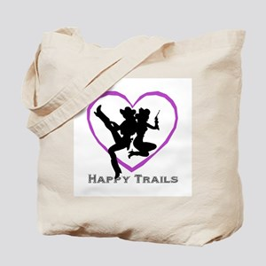 """Happy Trails Lesbians"" Tote Bag"