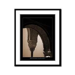 Alhambra Castle, Andalucia Framed Panel Print