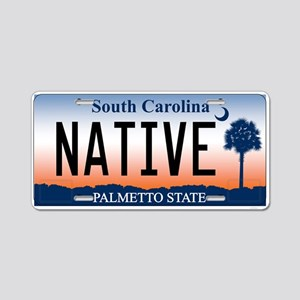 South Carolina Palmetto Sunri Aluminum License Pla