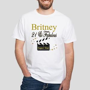 DAZZLING 21ST White T-Shirt