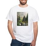 Yosemite's Curry Village t-shirt--white