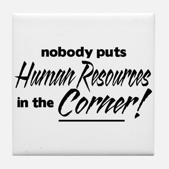 HR Nobody Corner Tile Coaster