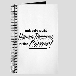 HR Nobody Corner Journal