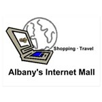 Albany's Internet Mall 5x7 Flat Cards (set Of
