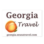 Georgia Travel Postcards (package Of 8)