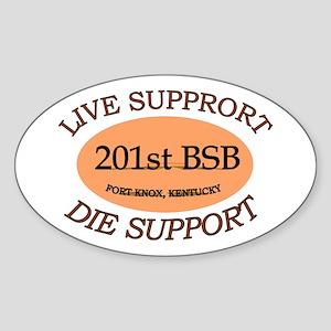 201st Brigade Support Bn Sticker (Oval)
