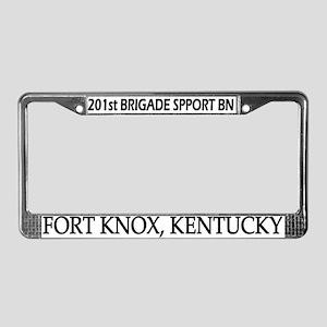 201st Brigade Support Bn License Plate Frame