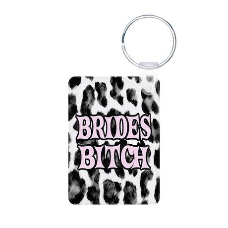 Brides Bitch Aluminum Photo Keychain
