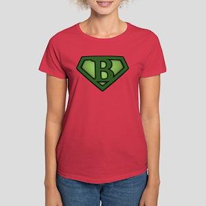 Super Green B Women's Dark T-Shirt