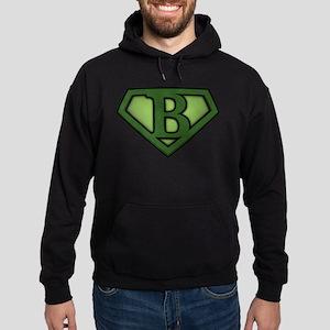 Super Green B Hoodie (dark)