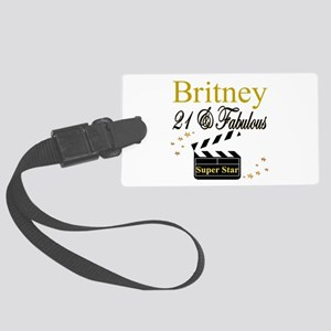 DAZZLING 21ST Large Luggage Tag
