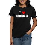 I love cheese Women's Dark T-Shirt