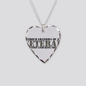 Operation Enduring Freedom (A Necklace Heart Charm