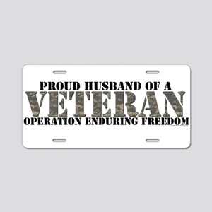 Operation Enduring Freedom (A Aluminum License Pla