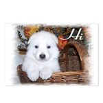 Cute Puppy Post Cards (Package of 8)