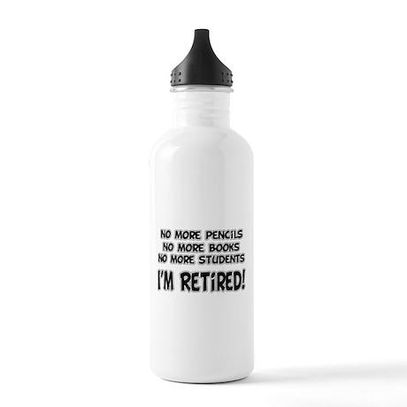Teacher Retirement Stainless Water Bottle 1.0L