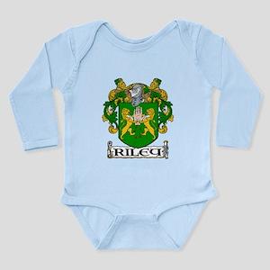 Riley Coat of Arms Long Sleeve Infant Bodysuit