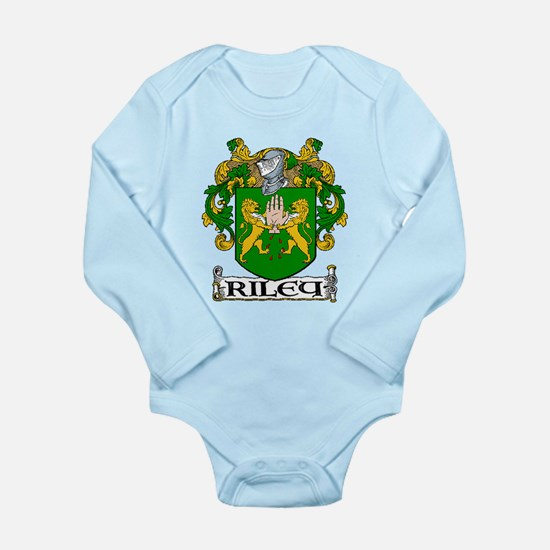 Riley Coat of Arms Long Sleeve Infant Bodysuit