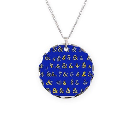 Ampersandz! Necklace Circle Charm