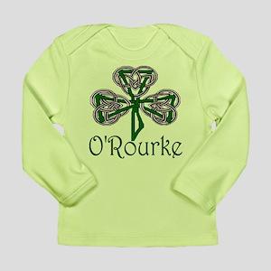 O'Rourke Shamrock Long Sleeve Infant T-Shirt