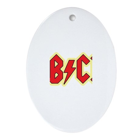 ABCD Ornament (Oval)