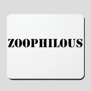 Zoophilous Mousepad