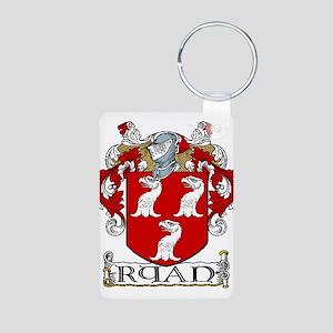 Ryan Coat of Arms Aluminum Photo Keychain