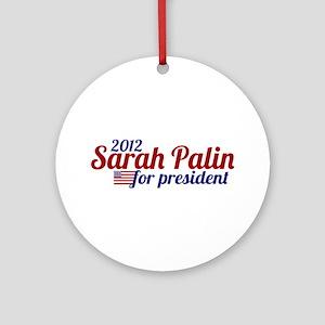 Sarah Palin 2012 Ornament (Round)