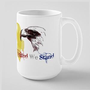 3D United We Stand Large Mug