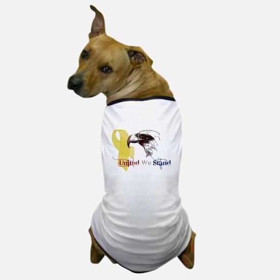 3D United We Stand Dog T-Shirt