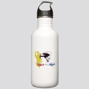 3D United We Stand Stainless Water Bottle 1.0L