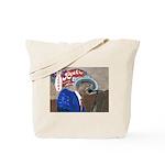 New Orleans Blues Singer Tote Bag