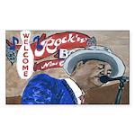 New Orleans Blues Singer Sticker