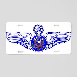 Chief Enlisted Crew Badge Aluminum License Plate