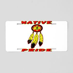Native Pride #0033 Aluminum License Plate