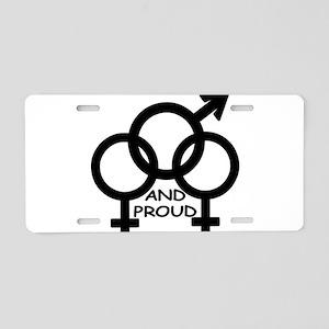 FMF & Proud Aluminum License Plate