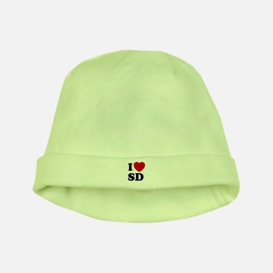 I Love San Diego baby hat / cap