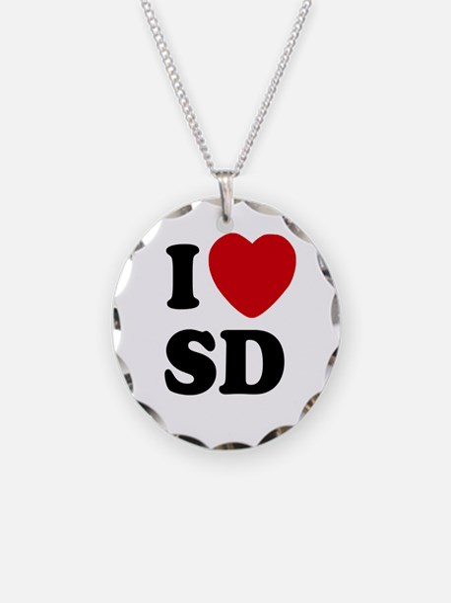 I Love San Diego Necklace