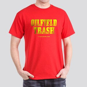 Oil Field Trash Dark T-Shirt,Oil,Gas,Driller,Rig