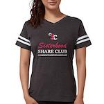 Learn, Empower Forward Women's Football T-Shir