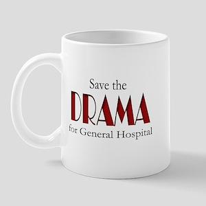 Drama on General Hospital Mug
