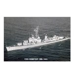 USS COMPTON Postcards (Package of 8)
