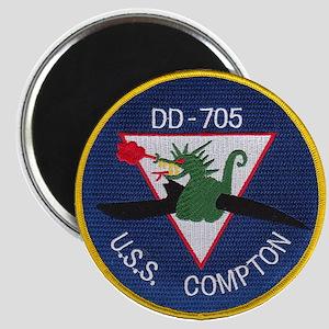 USS COMPTON Magnet