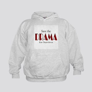 Drama on Survivor Kids Hoodie