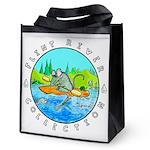 """River Rat"" Reusable Grocery Tote Bag"