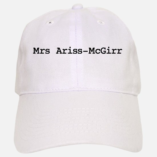 Mrs Ariss-McGirr Baseball Baseball Cap