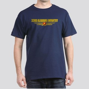 33rd Alabama Infantry Dark T-Shirt
