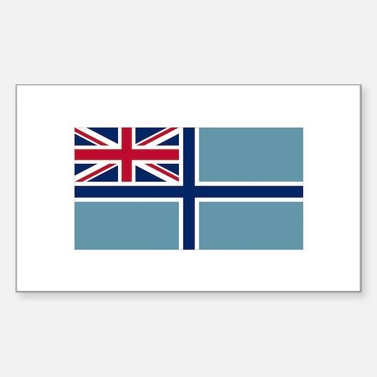 Civil Air Ensign Sticker (Rectangle 10 pk)