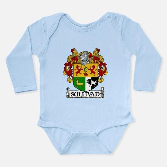 Sullivan Coat of Arms Long Sleeve Infant Bodysuit