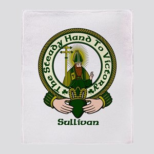 Sullivan Clan Motto Throw Blanket